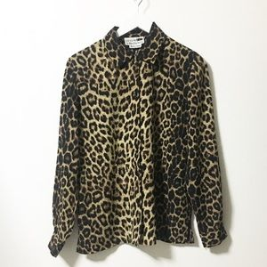 Used / leopard print shirts